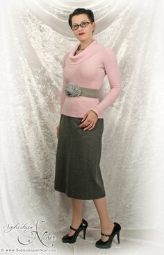 Soft Pink and Vintage Grey