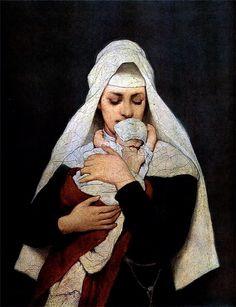 Foundling. Gabriel Cornelius Ritter von Max (1840-1915)