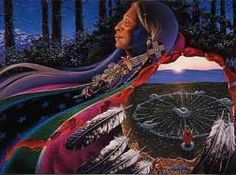 The Native American medicine wheel is a universal symbol used in many native tribes with versatile meanings depending on the tribe and personal journey. Native American Cherokee, Native American Wisdom, Native American Pictures, Native American Artwork, Native American Beauty, American Spirit, Native American Indians, Cherokee Nation, Native Indian
