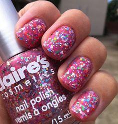 More claires cute nail polish Christmas presents
