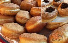 An old family recipe for cheap and fluffy Berliners … – Meat Foods Ideas Pretzel Bites, Hot Dog Buns, Meat Recipes, Doughnut, Family Meals, Pancakes, Butter, Bread, Dishes