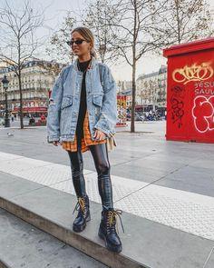 Live Fashion, Work Fashion, Womens Fashion, Style Fashion, Street Look, Street Style, Camille Callen, Edgy Hipster, Moderne Outfits