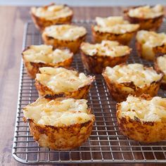 21 Reasons We Can't Live Without Cheese: Reason #8: Cheesy Potato Cups.