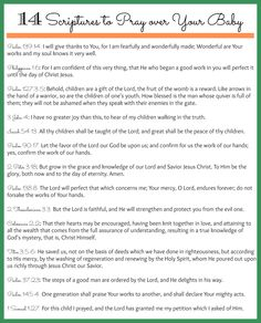 Image from http://www.thepurposefulmom.com/wp-content/uploads/2013/06/scriptures-over-baby.jpg.