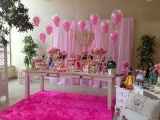 painel festa princesa - Pesquisa Google