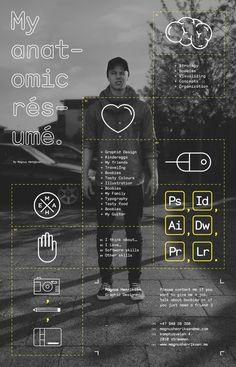 graphic designer resume... #infografia #empleo #curriculum https://erafbadia.blogspot.com/  @erafbadia