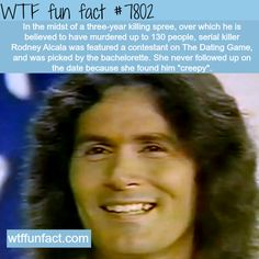 """Rodney Alcala """"The Dating game killer"""" - WTF fun facts"""