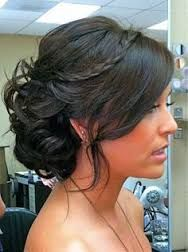 Image result for mid length hair updo