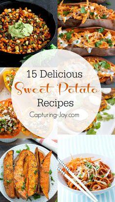 15 Amazing Sweet Potato Recipes