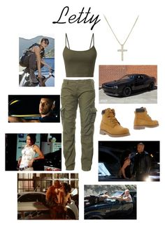 Designer Clothes, Shoes & Bags for Women Bad Girl Outfits, Tomboy Outfits, Cute Casual Outfits, Fashion Outfits, Letty Fast And Furious, Zombie Apocalypse Outfit, Super Fast Cars, Character Inspired Outfits, Fandom Outfits