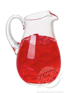 And a pitcher of sparkling vodka-cranberry punch