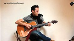 Eric Clapton Tears In Heaven Fingerstyle - Ruddy Meicher Acoustic Guitar