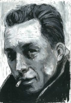 """Albert Camus (1913 – 1960)-So what is existentialism, and why does Camus not qualify? In simple terms, Sartre believed that existence precedes essence; Camus however contended that essence precedes existence. That is to say, in Sartre's bleak cosmos, man becomes conscious primarily of his existence as a free agent, and is then condemned to forge his own identity in a world without God. Camus was willing to posit legal rules that pointed to """"essences"""""""