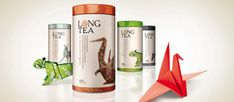 """Branward are the ones who created these beautiful packaging designs for the product called """"Long Tea"""", manufactured by Next Food."""