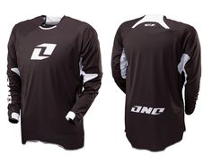 One Industries Gamma Icon Long Sleeve Jersey - Black