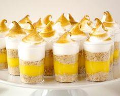 Affection for Detail: Lemon Meringue Pie Shots