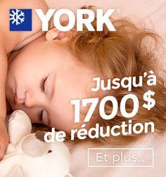 Découvrez le plus grand choix de systèmes de chauffage & climatisation. #York #master #chauffage #thermopompe #fournaise