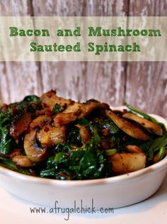 """Using the Garden Veggies: Check out these 10 delicious """"Best of Pinterest"""" Spinach Recipes! #recipes #summer"""