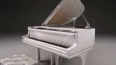 Stunning piano encrusted with 500,000 Swarovski crystals | Daily Mail Online