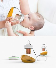#BLOBY aims to give new parents a break by minimizing the amount of #accessories needed when it comes to feeding time. #BabyCare #YankoDesign #Home #Parents #Appliances #Product