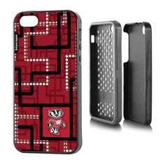 Wisconsin Badgers Apple iPhone 5SE/5s/5 Rugged Case