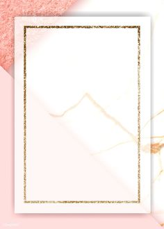 Gold rectangle frame on pink background vector premium image by Kappy Kappy Flower Background Wallpaper, Framed Wallpaper, Flower Backgrounds, Iphone Wallpaper, Vector Background, Frame Background, Pink Glitter Background, Poster Background Design, Background Ideas