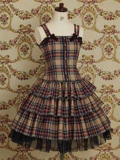 Mary Magdalene / Jumper Skirt / Cornet OP (Re-release) Frocks For Girls, Kids Frocks, Pretty Dresses, Beautiful Dresses, Estilo Lolita, Girls Frock Design, Baby Frocks Designs, Mori Girl, Mode Vintage