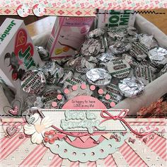I fixed up this basket of sweets for my sweet one day!   I love this Feburary 2014 kit from Simple Girl Scraps found here:  http://store.gingerscraps.net/February-Story-2014.html  It just has LOVE plastered all over it!  I also used a fun template from LissyKay Designs Pretty Little Mask pack found here:  http://store.gingerscraps.net/Pretty-Little-Mask-by-LissyKay-Designs.html  I love those BIG photo Templates!!