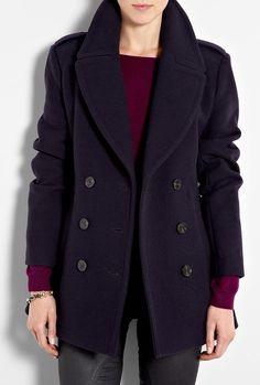 Classic Wool Pea Coat