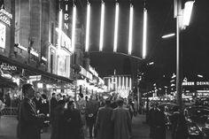 Kurfürstendamm mit Licht-Baldachin, 1961