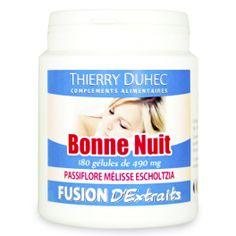 Fusion d'Extraits® Bonne Nuit - Thierry Duhec La boutique de Compléments Alimentaires