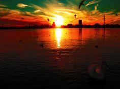 sunset landscape - Google Search