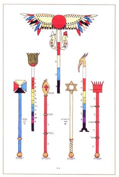 wands and sceptres of the golden dawn