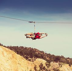 Zip line and white water rafting package with Colorado's most trusted outfitter - Echo Canyon River Expeditions. Near Colorado Springs and Royal Gorge.