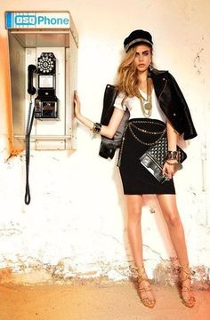 Cara Delevingne for Dsquared2