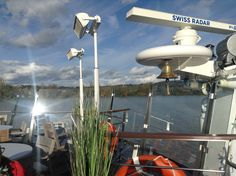 Ship's gear. Cruising on the Viking Forseti up the Gironde Estuary and the Dordogne River from Blaye to Libourne.