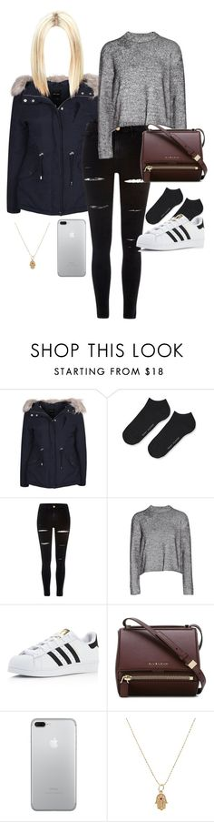 """""""Без названия #20"""" by annaporutchikova ❤ liked on Polyvore featuring beauty, New Look, Tommy Hilfiger, River Island, T By Alexander Wang, adidas, Givenchy and Sydney Evan"""