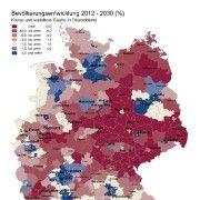 Prognose für 2030: Deutschland schrumpft und vergreist - SPIEGEL ONLINE - Nachrichten - Wissenschaft