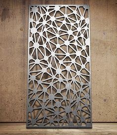 Geometric | Miles and Lincoln | Laser cut screens | Laser cut panels (https://www.pinterest.com/AnkAdesign/design-materials/)