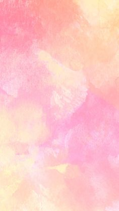 Pink watercolour iPhone wallpaper