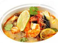 Warming and Vibrant Thai Seafood Soup (Tom Yum Talay) in Under 30 Mins.