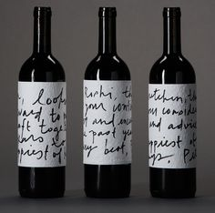 14 Beautifully Labeled Wine Bottles We Wish We Could Buy