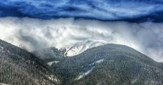 The #clouds coming over the #ContinentalDivide this evening in #WinterPark #Colorado.  #playwinterpark #winterparklife
