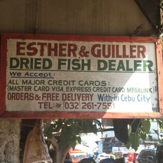 Cebu is also famous for its dried seafood delicacies. One of the best places to get them is at the Tabo-an Dried Fish Market in Cebu City. Cebu City, Philippines, Fish, Marketing, Products, Pisces, Cebu, Gadget