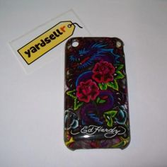 Dragon Design Ed Hardy Hard Back Case Cover For Apple iPhone 3G 3GS (Free Shipping)