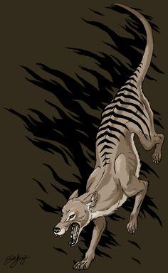 return_of_the_thylacine_by_kinzoku_wolf-d3azuqj.png (500×815)