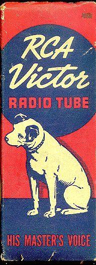 """RCA """"Nipper"""" Tube Box Group"""