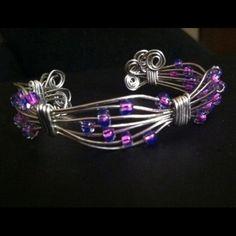 Sitarz Jewelry - Wire wrapped bracelet.