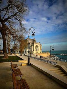 Casino, Constanta, Romania Cool Places To Visit, Places To Go, Constanta Romania, Visit Romania, Romania Travel, Virtual Travel, Bucharest, Travel Memories, Art Nouveau
