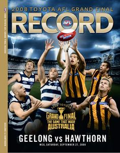 Hawthorn vs Geelong: Grand Final Football Record 2008